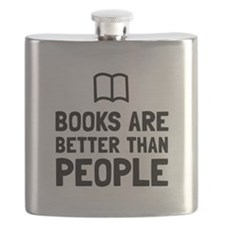 Books Better Than People Flask