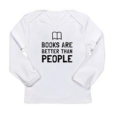 Books Better Than People Long Sleeve T-Shirt