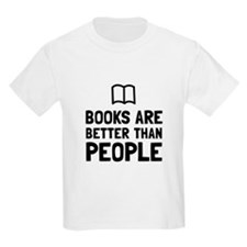 Books Better Than People T-Shirt