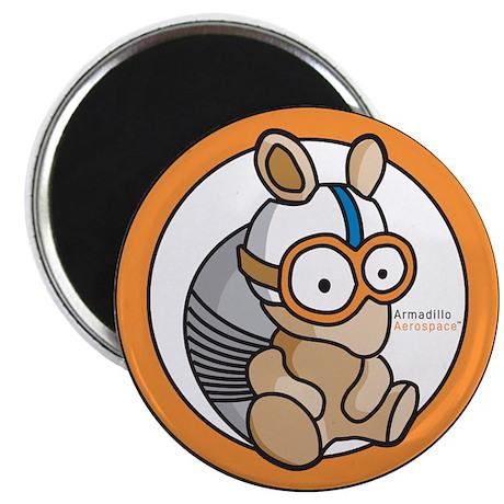 "Armadillo Aerospace 2.25"" Magnet (10 pack)"
