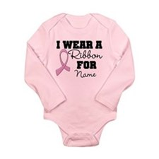 Custom Ribbon Breast Cancer Body Suit