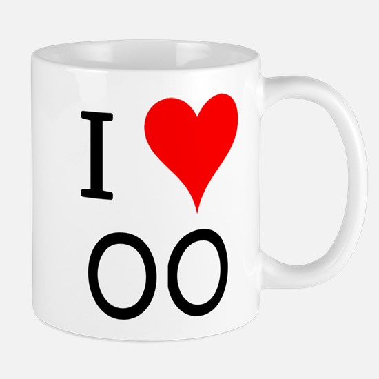 I Love OO Mug