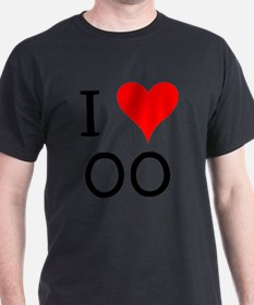 I Love OO T-Shirt