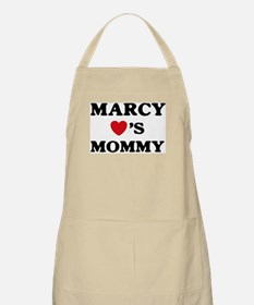 Marcy loves mommy BBQ Apron