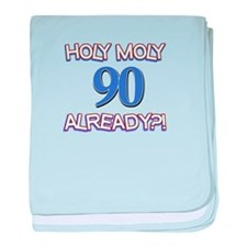 90 year old designs baby blanket