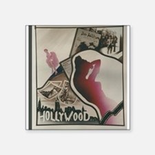 Hollywood Painted Stained Glass Sticker