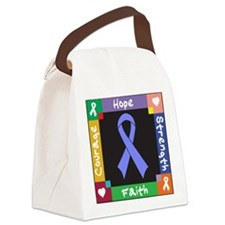 Esophageal Cancer Courage Canvas Lunch Bag