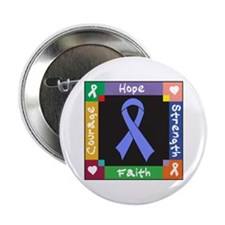 """Esophageal Cancer Courage 2.25"""" Button"""