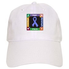 Esophageal Cancer Courage Baseball Cap