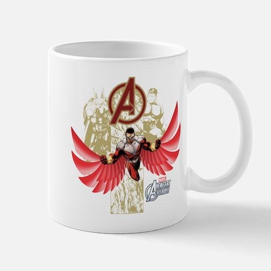 Falcon Red Mug