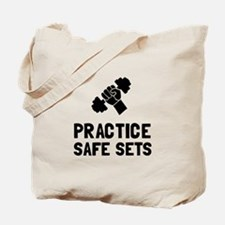 Practice Safe Sets Tote Bag
