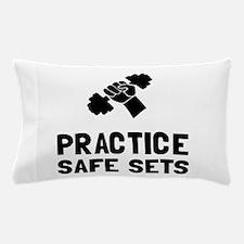Practice Safe Sets Pillow Case