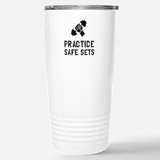 Practice Safe Sets Travel Mug