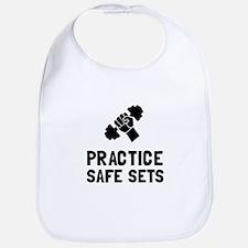 Practice Safe Sets Bib