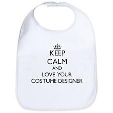 Keep Calm and Love your Costume Designer Bib