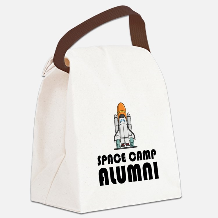 Space Camp Alumni Canvas Lunch Bag