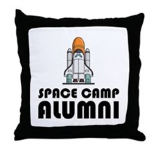 Space Camp Alumni Throw Pillow