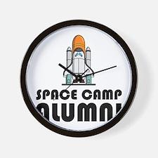 Space Camp Alumni Wall Clock
