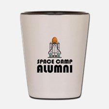 Space Camp Alumni Shot Glass
