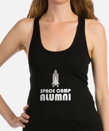 Space Camp Alumni Racerback Tank Top