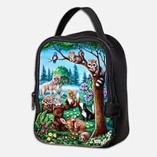 Forest Friends Neoprene Lunch Bag