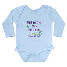 Southern Girls Long Sleeve Infant Bodysuit