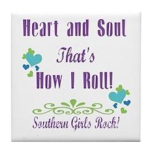 Southern Girls Tile Coaster