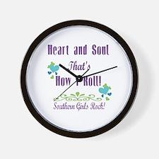 Southern Girls Wall Clock