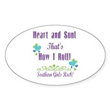 Southern Girls Decal