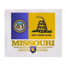 Missouri DTOM Throw Blanket
