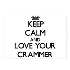 Keep Calm and Love your Crammer Postcards (Package
