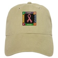 Breast Cancer Courage Baseball Cap