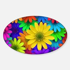 Colorful Daisies Decal