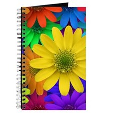 Colorful Daisies Journal