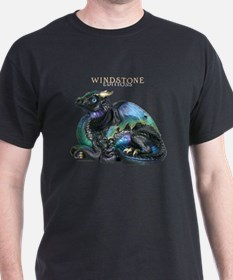 Black Emerald Peacock Old Warrior T-Shirt