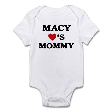 Macy loves mommy Infant Bodysuit
