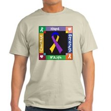 Bladder Cancer Courage T-Shirt