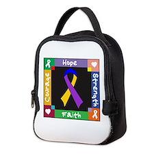 Bladder Cancer Courage Neoprene Lunch Bag