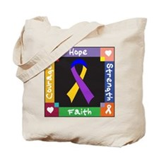 Bladder Cancer Courage Tote Bag