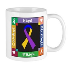 Bladder Cancer Courage Mug