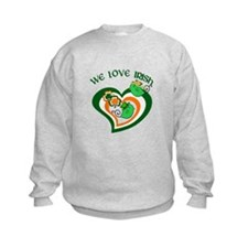 We Love Irish Sweatshirt