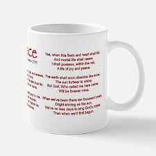 Amazing Grace Mug Mugs