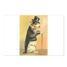 Whimsical Gifts Jack russell smoking dog Postcards