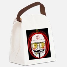 Funny Hunter s. thompson Canvas Lunch Bag