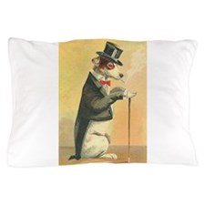 Whimsical Gifts Jack russell smoking dog Pillow Ca