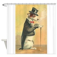 Whimsical Gifts Jack russell smoking dog Shower Cu