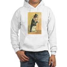 Whimsical Gifts Jack russell smoking dog Hoodie