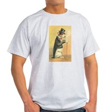 Whimsical Gifts Jack russell smoking dog T-Shirt