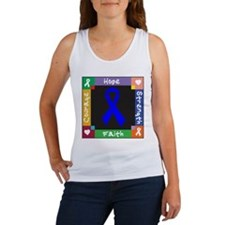 Anal Cancer Courage Women's Tank Top
