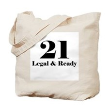 21 Legal & Ready Tote Bag